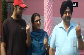 एयर चीफ मार्शल बीरेंद्र सिंह धनोआ ने दिल्ली में डाला अपना वोट, देखें  VIDEO
