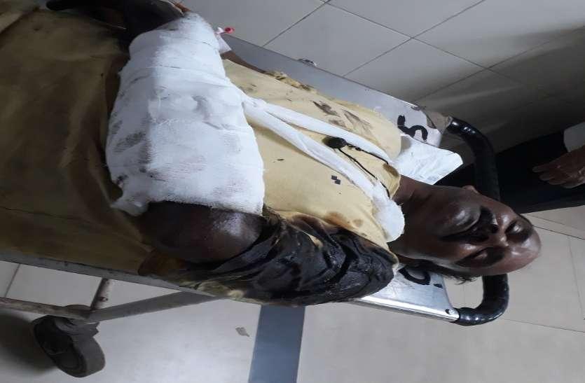 बीएसपी रेल मिल में ठेका मजदूर से चलवा रहा क्रेन, दो दिन में हुई दो दुर्घटनाएं