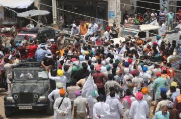 पंजाब में चुनाव प्रचार की शुरूआत करने पहुंचे केजरीवाल को करना पड़ा विरोध का सामना, लगे 'वापस जाओ' के नारे और...