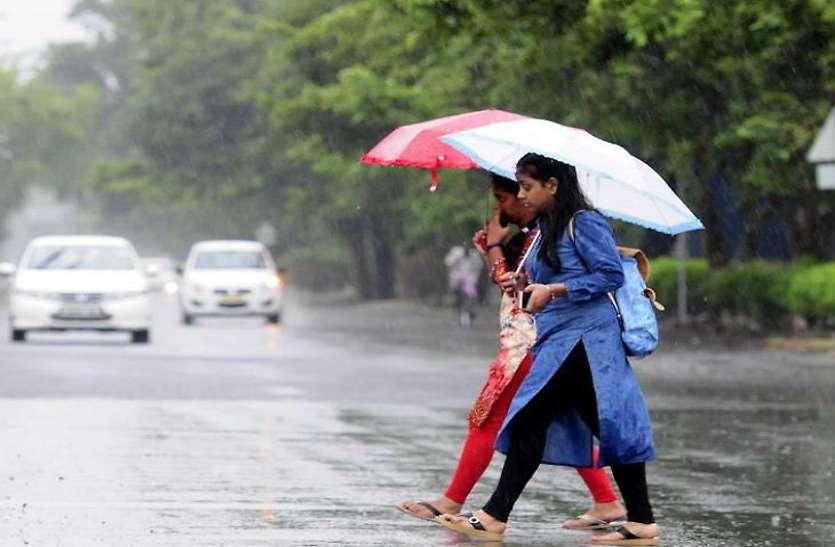 बंगाल की खाड़ी से आ रही नमी से तापमान में आई गिरावट, तूफान के साथ आज हो सकती है बारिश