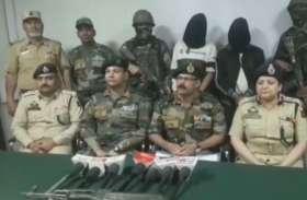 सुरक्षाबलों ने 2 संदिग्ध आतंकियों को किया गिरफ्तार, गोला बारूद समेत एके -47 बरामद