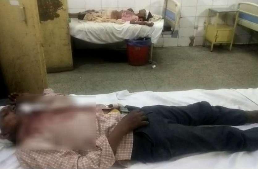 किसान के परिवार पर टूटा दबंग का कहर, लाठी डंडों से की पिटाई, 2 की हालत गंभीर