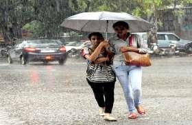 भीषण गर्मी के बीच हल्की बारिश से खुशगवार हुआ मौसम