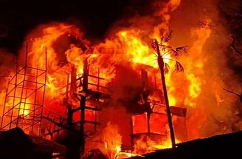 शिमला में 190 वर्ष पुराने ग्रैंड होटल में लगी भीषण आग, लाखों की संपत्ति खाक