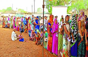 लोकतंत्र के लोक उत्सव हुए मतदाता शामिल, गुना लोकसभा सीट पर 69.88 प्रतिशत मतदान