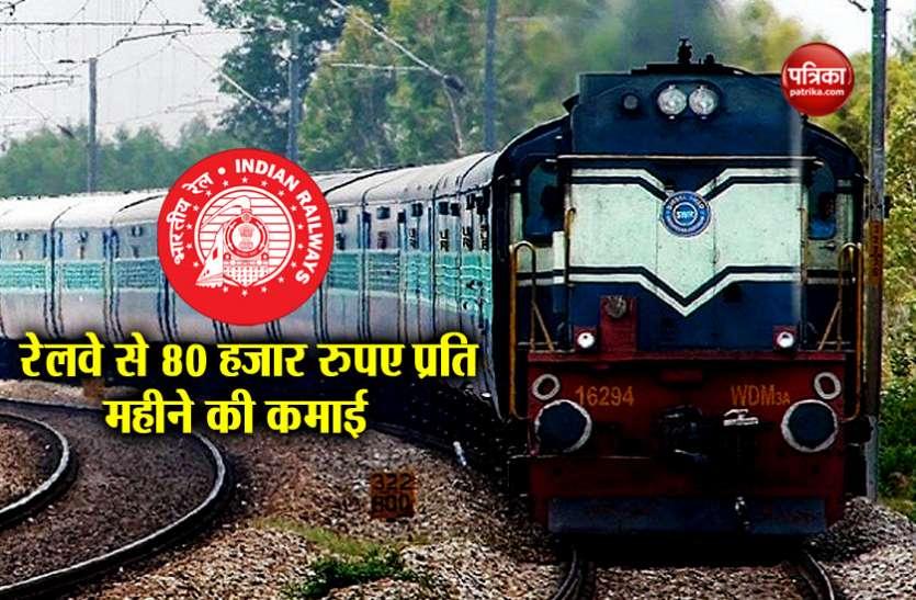 ভারতীয় রেলপথ প্রতিমাসে ৮০ হাজার টাকা উপার্জনের সুযোগ দিচ্ছে, আপনারও কাছেও রয়েছে এই দুর্দান্ত সুযোগ