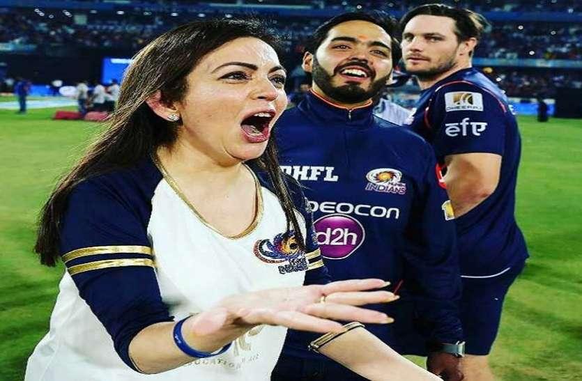 आखिरी ओवर में नीता अंबानी ने किया ये काम, फैंस बोले मुंबई को इन्होंने ही जिताया फाइनल
