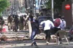 बांदीपोरा रेप केस में न्याय की मांग, प्रदर्शनकारी छात्रों और सुरक्षाबलों में हुई झड़प
