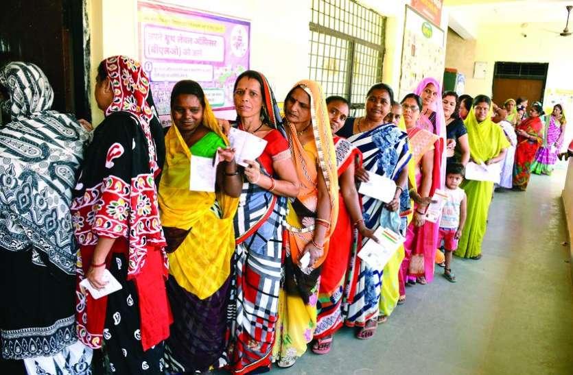 ELECTION 2019 - मतदान में नंबर वन बनने के लिए इंदौर को करना होगा 91 प्रतिशत मतदान