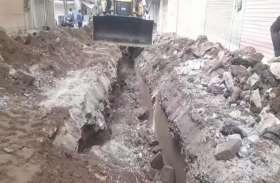 जयपुर की विरासत पर फिर चला लापरवाही का बुलडोजर..देखिए वीड़ियो