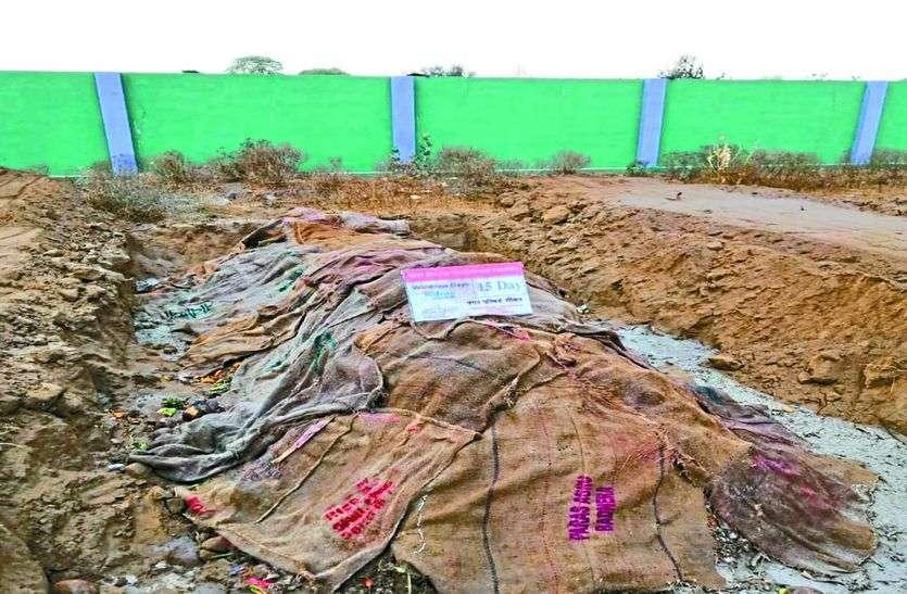 परिषद जुगाड़ से बना रही है गीले कचरे की खाद