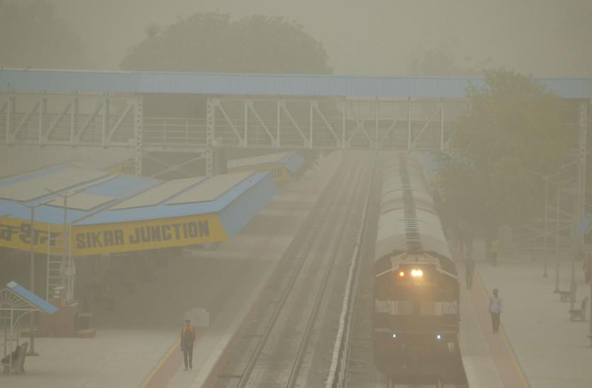 मौसम पलटा, राजस्थान में धूलभरी आंधी, मौसम विभाग ने कहा-अब 5 दिन देरी से 6 जून को केरल में आएगा मानसून