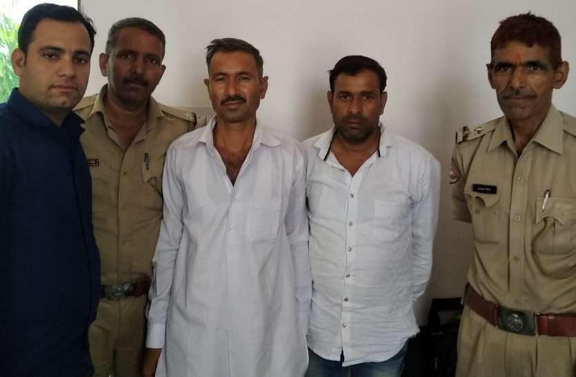 दिनदहाड़े युवक का अपहरण, पुलिस ने नाकाबंदी कर पकड़ा, दो गिरफ्तार, एक आरोपी फरार