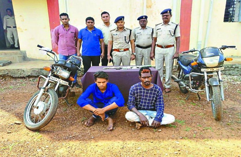 एक रात में चोरी की छह घटना को अंजाम देने वाला गिरफ्तार, दुर्ग क्षेत्र में भी की कई चोरियां