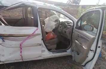 Big News कार घुस गई ट्रक में, चाचा-भतीजा समेत छह की मौत, कई घायल