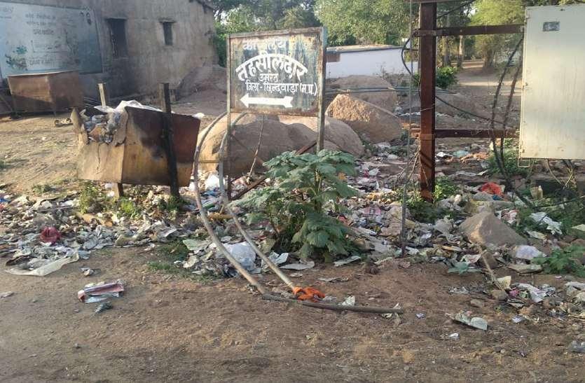 मोदी का स्वच्छता अभियान यहां फेल