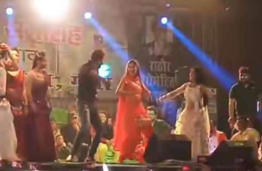 haryanvi-dancer-sapna-choudhary-khesari-lal-stage-show-video