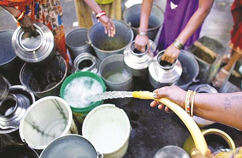 पनवेल में भीषण जल संकट, नागरिक बेहाल