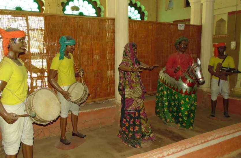 श्योपुर के इस म्युजियम में दिखती है सहरिया संस्कृति