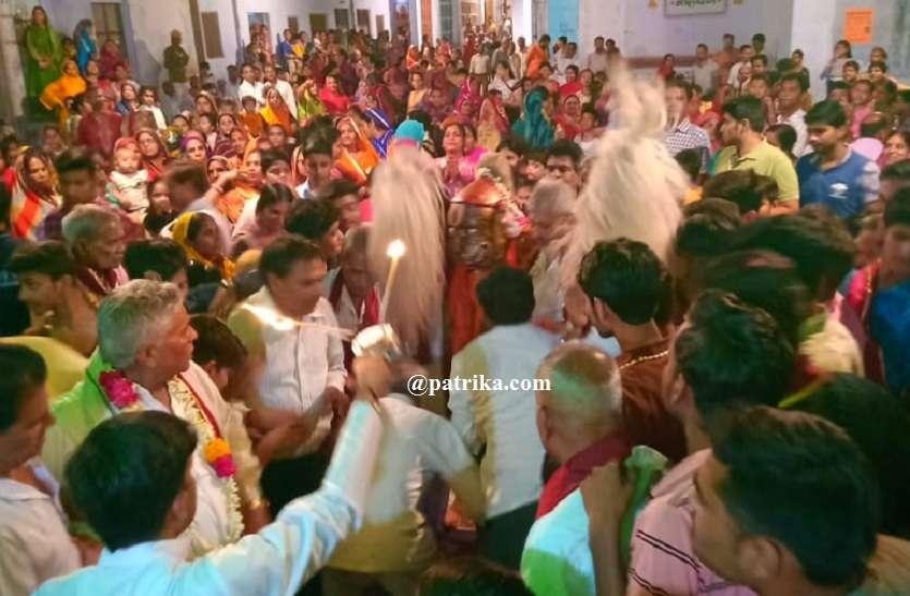 VIDEO : धूमधाम से मनाई नृसिंह जयंती, शहर में भरा मेला