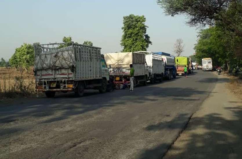 सरिया लोड ट्रक का पहिया फटा, मार्निंग वॉक पर निकले सेवानिवृत्त कर्मी की पहिए के नीचे दब जाने से मौत