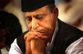 कांग्रेस के इस बड़े नेता दावा, हार देख बौखलाए आजम खान, मानसिक संतुलन भी बिगड़ा