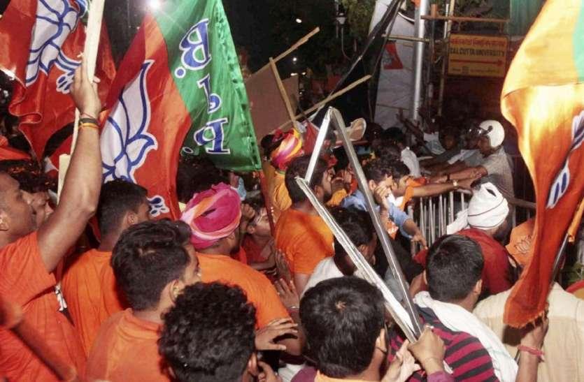 अमित शाह की रैली में लाठी डंडे ले जाने की बात कहने वाले भाजपा नेता का ऑडियो वायरल