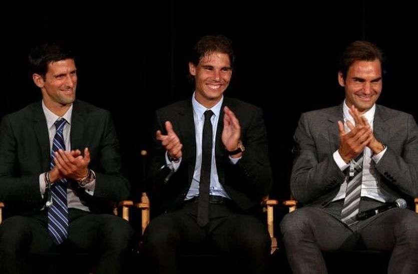 इटैलियन ओपन टेनिस : जोकोविक, नडाल और फेडरर तीनों दिग्गज पहुंचे क्वार्टर फाइनल में पहुंचे