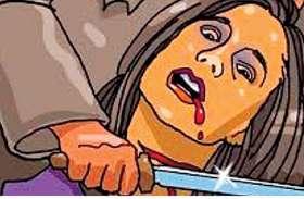 विवाहिता की गला रेत कर हत्या, झाड़ियों से मिला शव