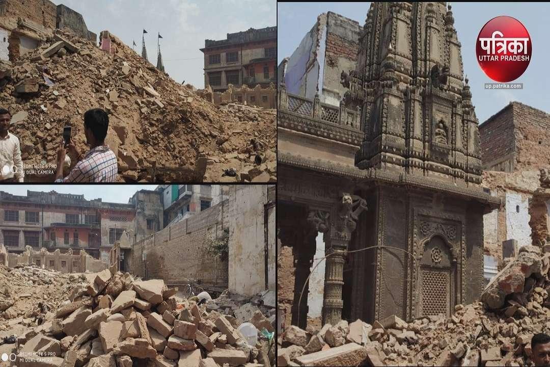 काशी के टूटते मंदिर