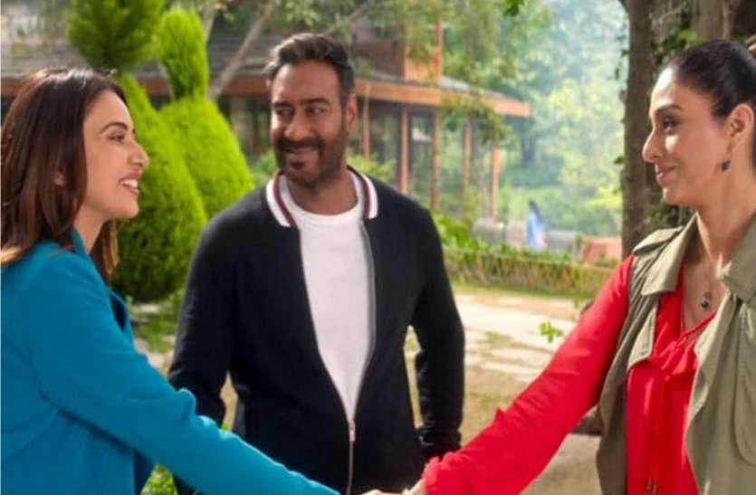 De De Pyaar De Box Office: पहले ही दिन अजय देवगन की फिल्म ने मारी बाजी, ओपनिंग डे पर कमा डाले इतने करोड़