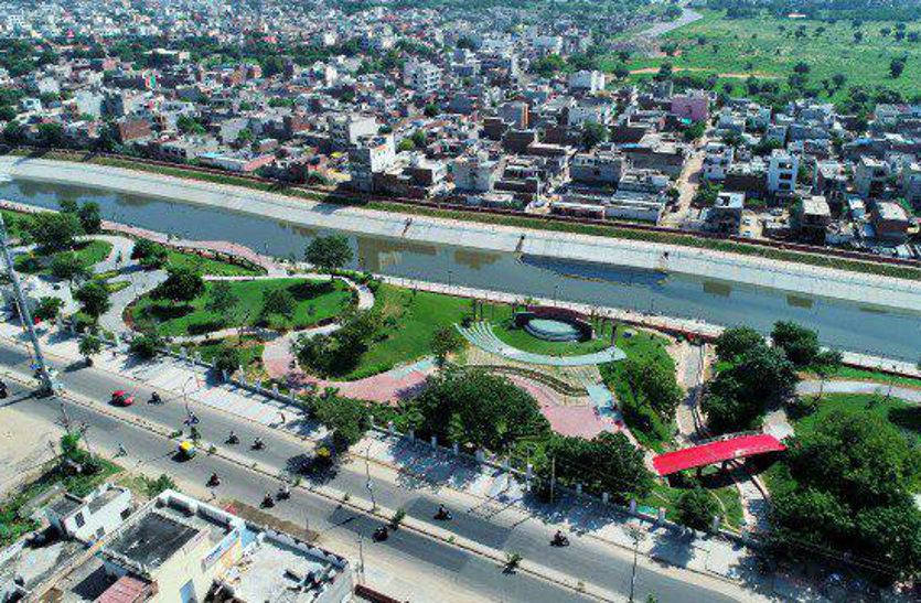 द्रव्यवती नदी के किनारे की जमीन का बाजार मूल्य पहुंचा 10 हजार करोड़, जेडीए होगा मालामाल