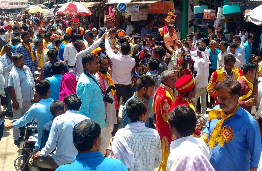 हिण्डौन में ब्राह्मण समाज के सामूहिक विवाह सम्मेलन में 15 जोड़े बने जीवनसाथी
