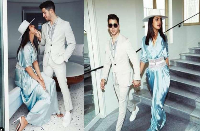 Cannes 2019 के दौरान हद से ज्यादा रोमांटिक हुए प्रियंका- निक, दोनों ने खिंचवाई ऐसी तस्वीर जिसमें...