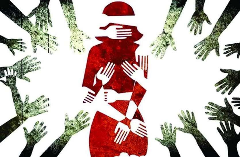 फुटपाथ पर रहने वाली दलित किशोरी के साथ पांच महीने से चार जने कर रहे थे बलात्कार