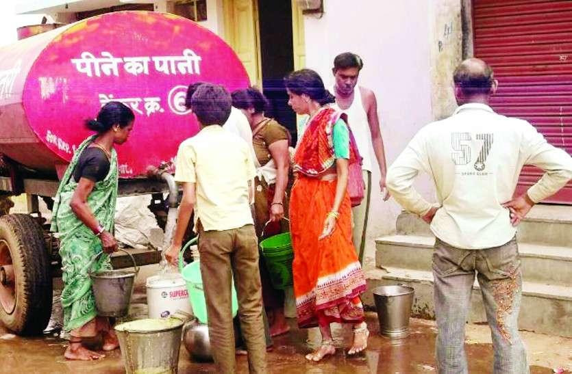 जलसंकट : गर्मी आते ही गिरने लगा शहर का जलस्तर, 5 सौ हैंडपंप खुद प्यासे
