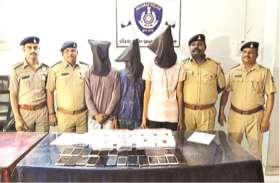 चोर गिरोह के तीन सदस्य गिरफ्तार