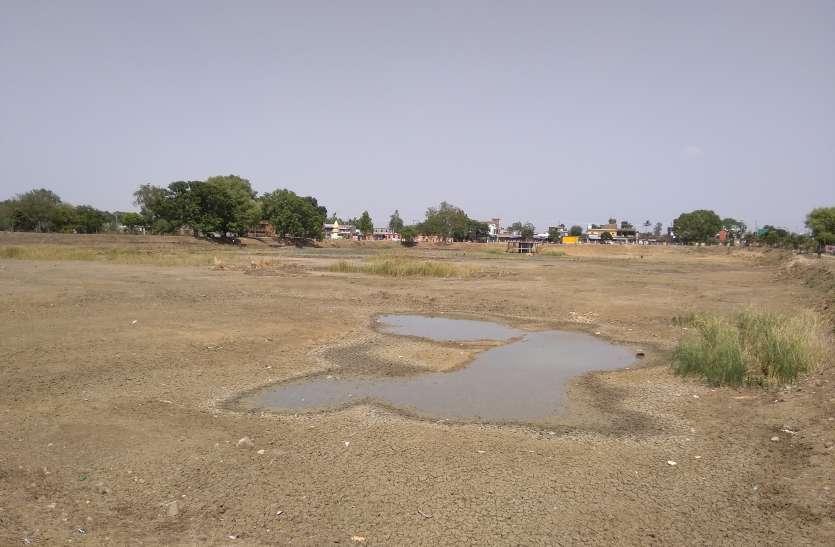 आखिर क्यों शहर की शान रही पांडवकालीन मडफ़ा तालाब अब हुई बूंद बूंद पानी को मोहताज