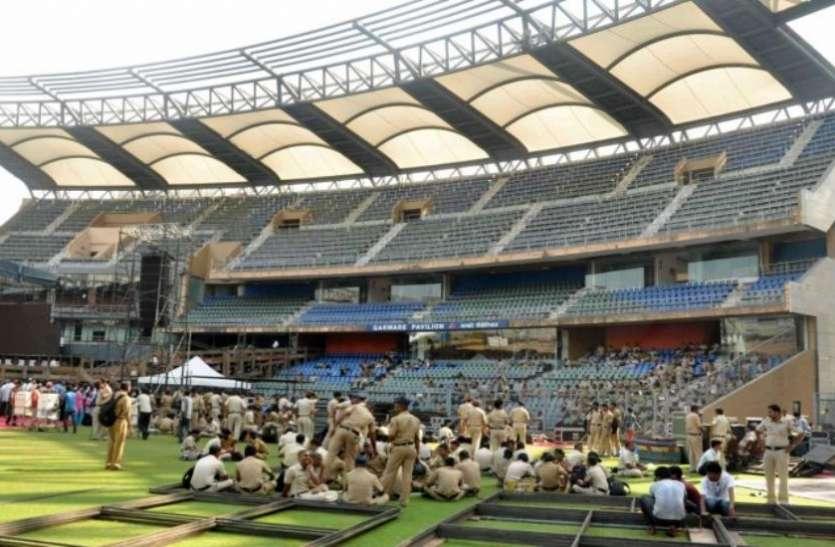 मुंबई में इंटरनेशनल क्रिकेट मैचों के आयोजनों पर लग सकता है ग्रहण