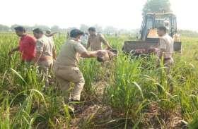 खेत में पहुंचे किसानों को मिला कुछ ऐसा कि मच गया बवाल, पुलिस से की यह बड़ी मांग