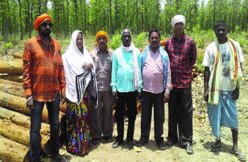 वन रक्षक समिति ने जतायी नाराजगी, ग्रामीणों में आक्रोश