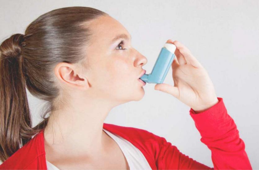 Five Ways Asthma Blooms - पांच तरह से अस्थमा फुलाता दम | Patrika News