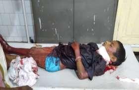 विक्षिप्त ने यात्री प्रतिक्षालय में परिवार के साथ सो रही बालिका के गले पर फालिया मारा, मौत