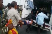 झारखंड:पुलिस और नक्सलियों के बीच मुठभेड़, तीन जवान घायल