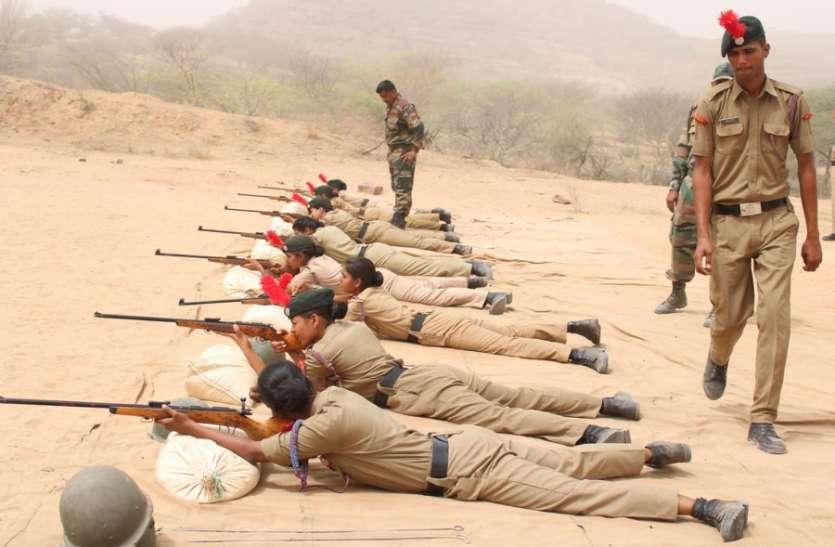 NCC 6 राज बटालियन का प्रशिक्षण शिविर, देश की रक्षा के लिए मर मिटने का लिया संकल्प