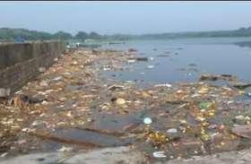 चित्तलापाक्कम झील में प्रदूषण से परेशान रहवासी