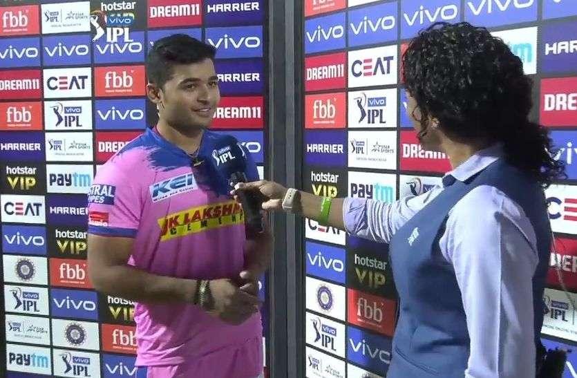 राजस्थान रॉयल्स का युवा खिलाड़ी रियान पराग स्मृति मंधाना की बल्लेबाजी का है दीवाना