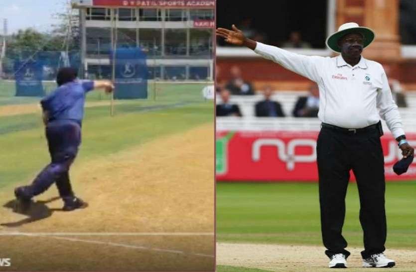 आईसीसी ने उड़ाया सचिन का मजाक, इस 'अशुभ' अंपायर की दिला दी याद