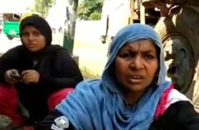 मां के साथ थाने पहुंची पत्नी ने पति के खिलाफ दी ऐसी शिकायत, जांच में जुटी पुलिस- देखें वीडियो