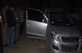 चेकिंग के दौरान पुलिस ने मुठभेड़ के बाद इनामी बदमाश दबोचा- देखें वीडियो